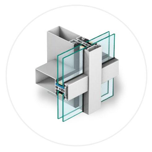 fasady aluminiowo szklane
