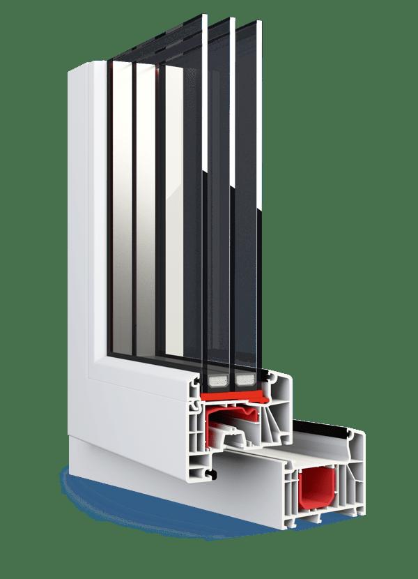 Okna Aluplast Ideal NEW 7000